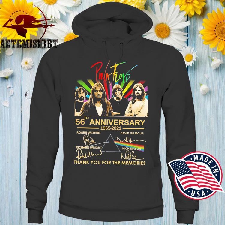 Pink Floyd 56th Anniversary 1965 2021 Thank You For The Memories Shirt Hoodie
